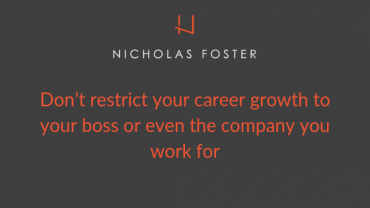 Don't Just Rely on Your Boss to Build Your Career