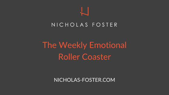 The Weekly Emotional Roller Coaster